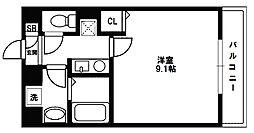 アドバンス新大阪CityLife[4階]の間取り