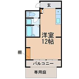 愛知県名古屋市千種区今池1丁目の賃貸マンションの間取り