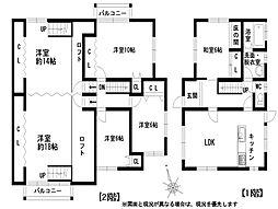 [一戸建] 香川県善通寺市木徳町 の賃貸【/】の間取り