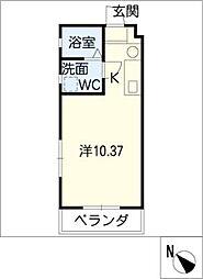 270 apartment1[2階]の間取り