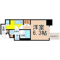 レジデンス千代田[2階]の間取り