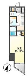 エルスタンザ徳川[10階]の間取り