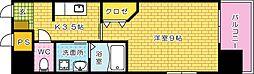 アクアシティ本川町[1006号室]の間取り
