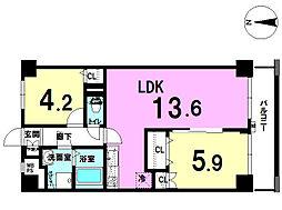 パレ・ドール戸田 2階 中古マンション