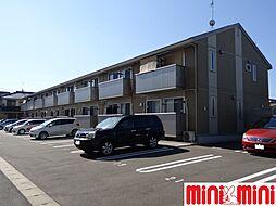 佐賀県佐賀市若宮1丁目の賃貸アパートの外観