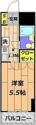 日神パレステージ[306号室]の間取り