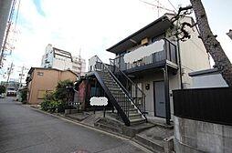 愛知県名古屋市中川区高畑3丁目の賃貸アパートの外観