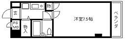 ライオンズマンション京都西陣[802号室]の間取り