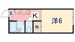 英賀保駅 3.3万円