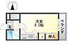 間取り,ワンルーム,面積26.5m2,賃料3.2万円,とさでん交通市内線 上町四丁目駅 徒歩7分,,高知県高知市山ノ端町