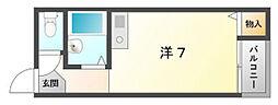 アズ・ステーション池田[3階]の間取り