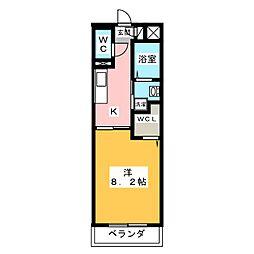 仮称)津市半田T&Nマンション[2階]の間取り