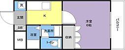 ラカシタ[2階]の間取り