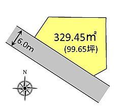 3区画分譲地、...