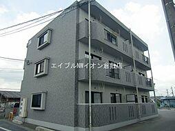 岡山県総社市門田丁目なしの賃貸マンションの外観