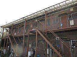 神奈川県川崎市高津区新作2丁目の賃貸アパートの外観