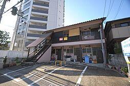 福岡県福岡市中央区白金2丁目の賃貸アパートの外観