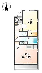 LAPUTA[3階]の間取り