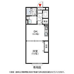 ベイサージュNB 西堤本通東2 河内小阪15分[1階]の間取り