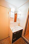 シャワー付きで朝の身支度もスムーズ29年のリフォームで新規交換済みです