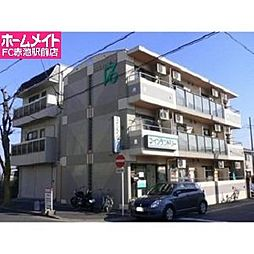 愛知県豊明市二村台4丁目の賃貸マンションの外観