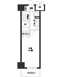 フェニックスレジデンス堺東[0205号室]の間取り