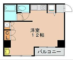 パンルネックスクリスタル博多I[4階]の間取り
