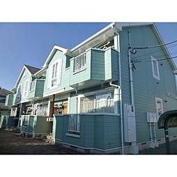 神奈川県小田原市曽比の賃貸アパートの外観