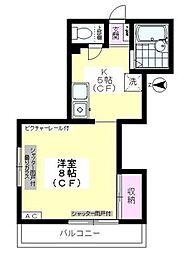 ツールドメゾン[1階]の間取り