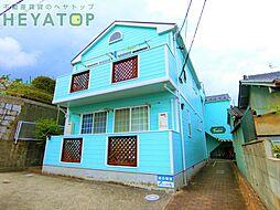 愛知県名古屋市瑞穂区津賀田町3丁目の賃貸アパートの外観