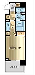 ダフィット横濱台町[8階]の間取り