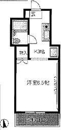 東京都新宿区舟町の賃貸マンションの間取り