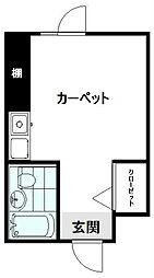 セゾン新秋津[306号室]の間取り