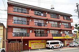 江口マンション四女子[4階]の外観