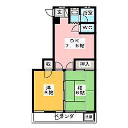 纐纈第3ビル[1階]の間取り