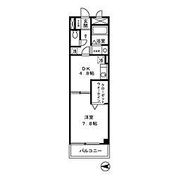 東京都小平市上水本町2丁目の賃貸アパートの間取り