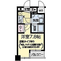 セレニテ甲子園II[0204号室]の間取り