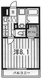カサール[1階]の間取り