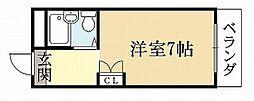 ジュネス神楽田[3階]の間取り