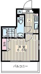 7255-ピアコートTM阿佐ヶ谷壱番館[5階]の間取り