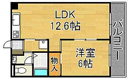 Le・Ciel[2階]の間取り