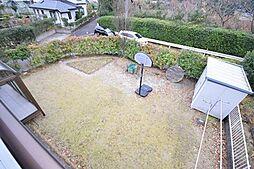 広々とした庭付