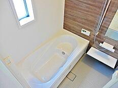 1坪以上のゆったり浴室