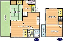 [一戸建] 福岡県北九州市八幡西区星和町 の賃貸【/】の間取り