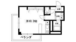 レグルス桜夙川[303号室]の間取り