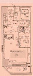 東京都台東区根岸の賃貸マンションの間取り