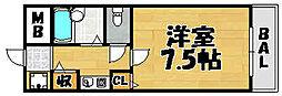 プラザイマイマンション[303号室]の間取り