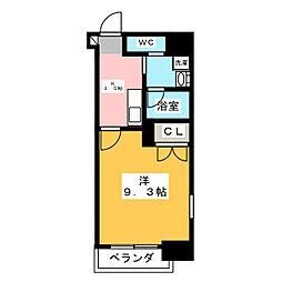 Plan Baim[4階]の間取り