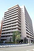 外観/桜田通りに面した14階建てマンション
