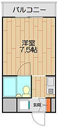 MAGNOLIA[-2階]の間取り